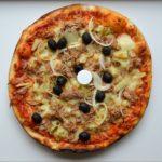 pizza aux artichauts