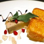 foie gras mi cuit présentation au restaurant